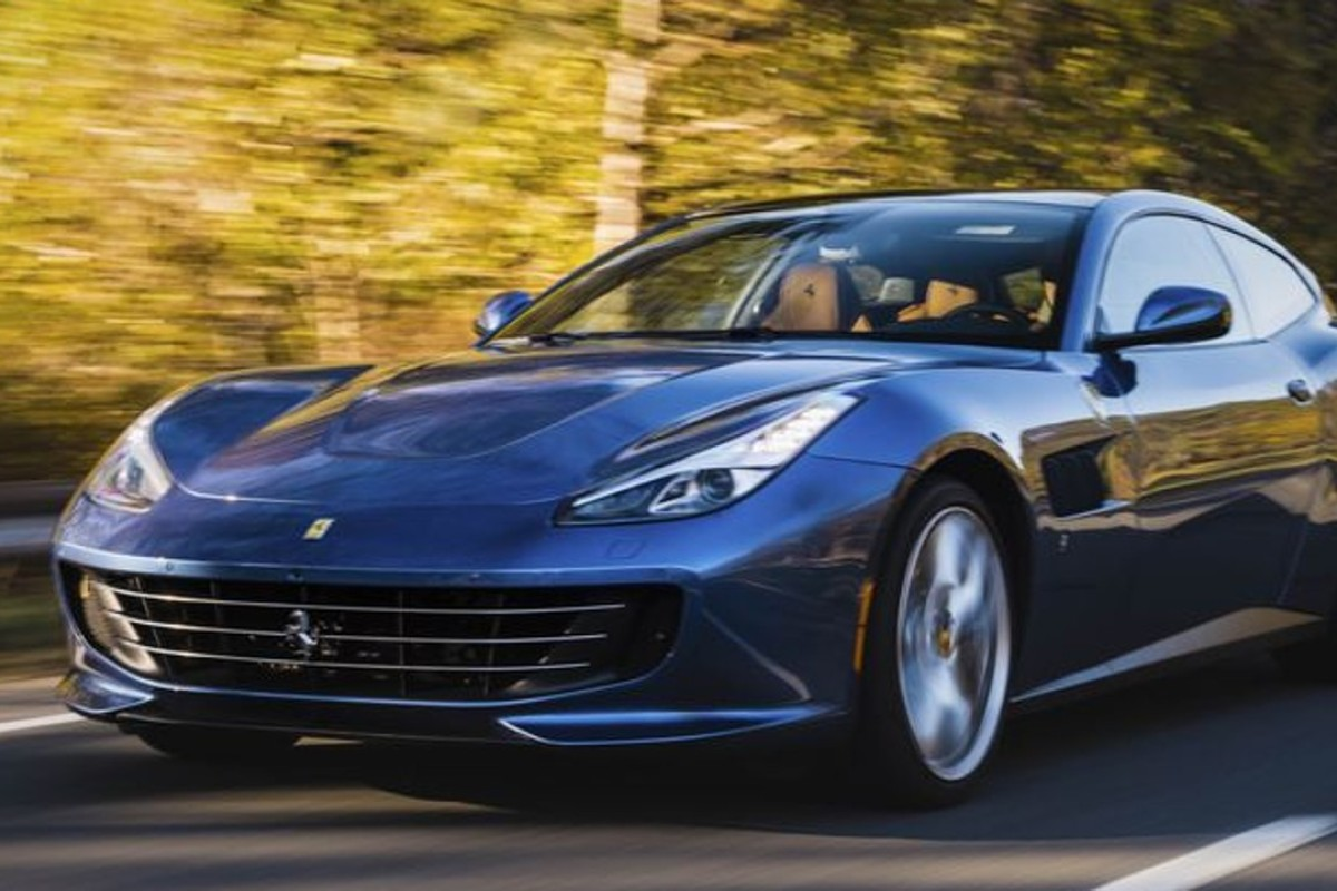 The new Ferrari GTC4Lusso T costs US$260,000. Photo: Bloomberg