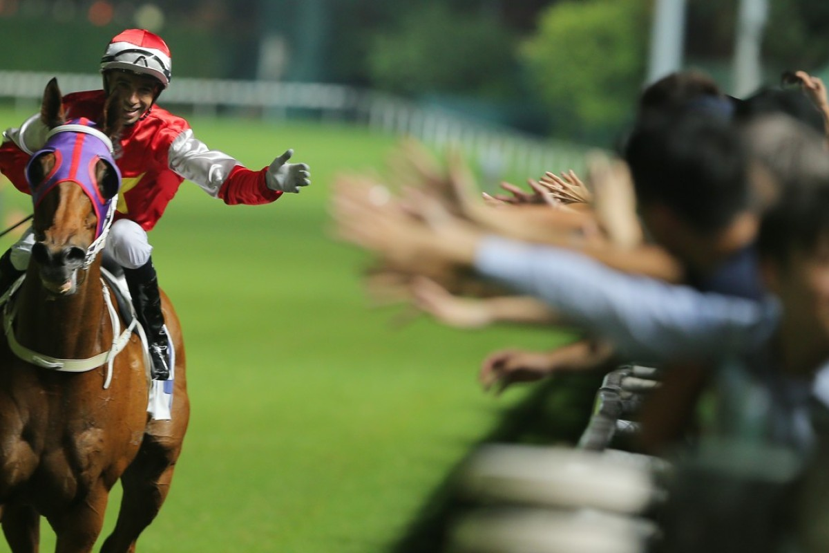 Joao Moreira is hoping to be fit to ride at Happy Valley on Wednesday night. Photos: Kenneth Chan