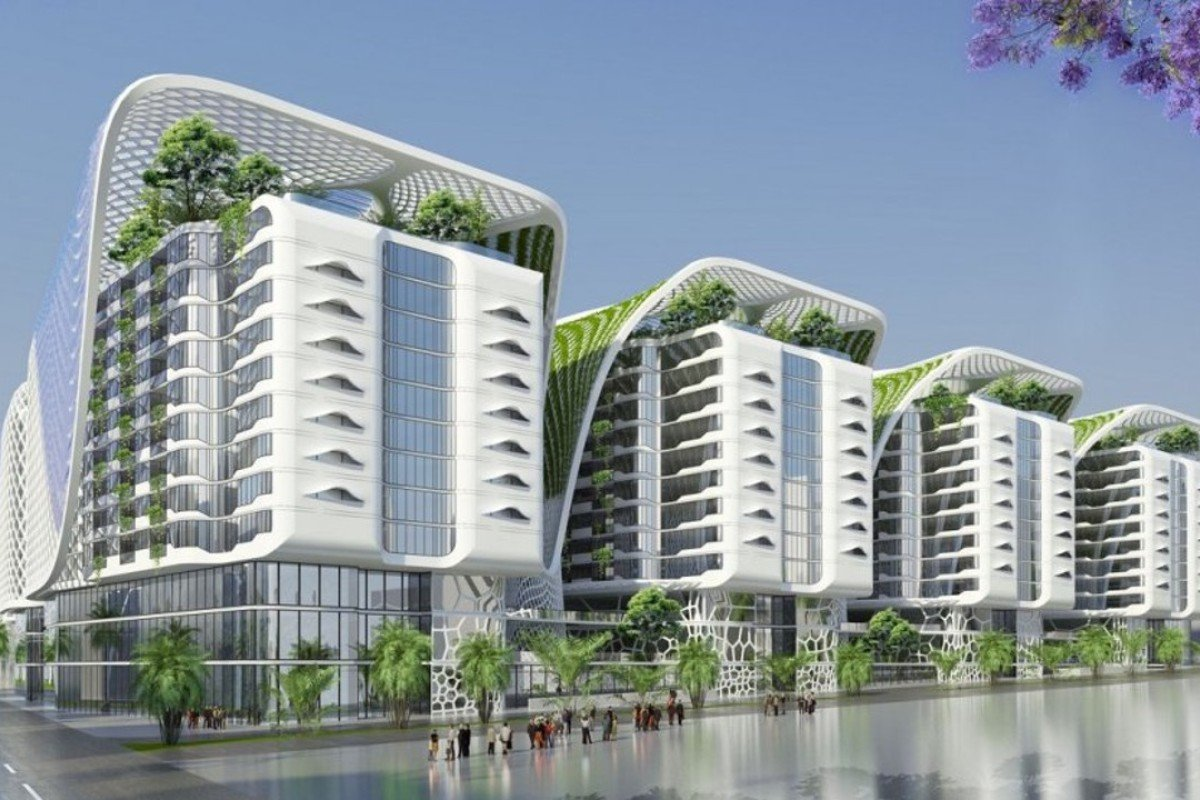 nice apartment building design. This futuristic complex in Cairo will feature indoor  mega trees and 1 000 luxury Green apartment block features Style