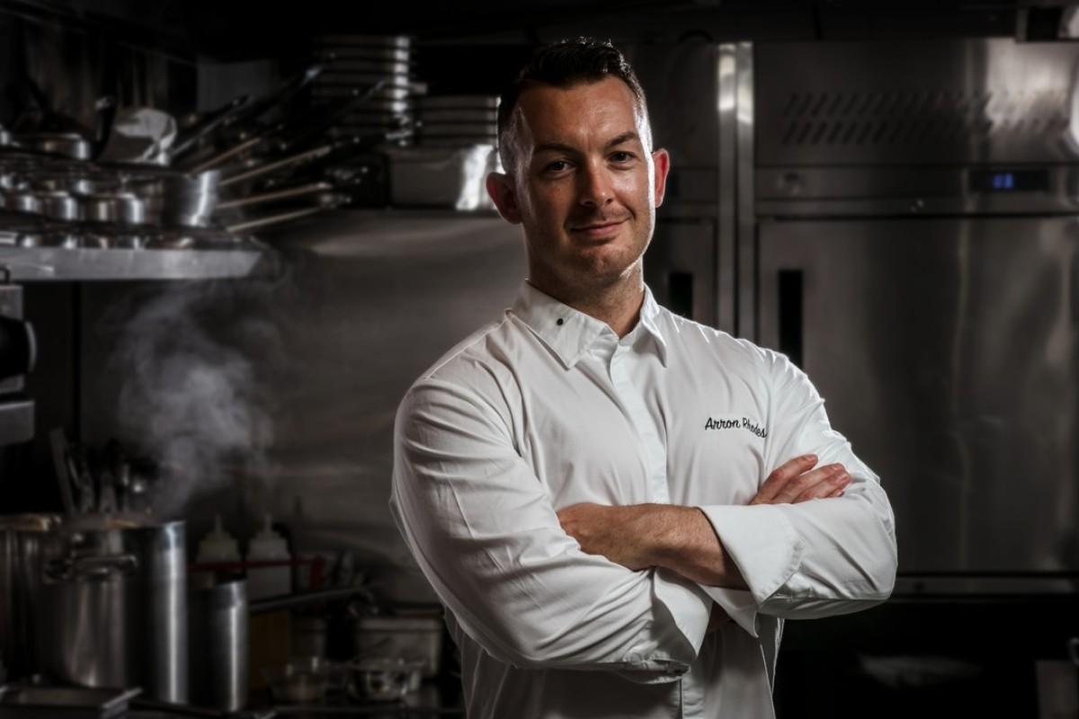 Arron Rhodes, head chef at Gough's on Gough.