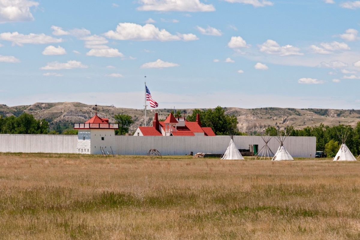 The Fort Union Trading Post, in North Dakota. Picture: Alamy
