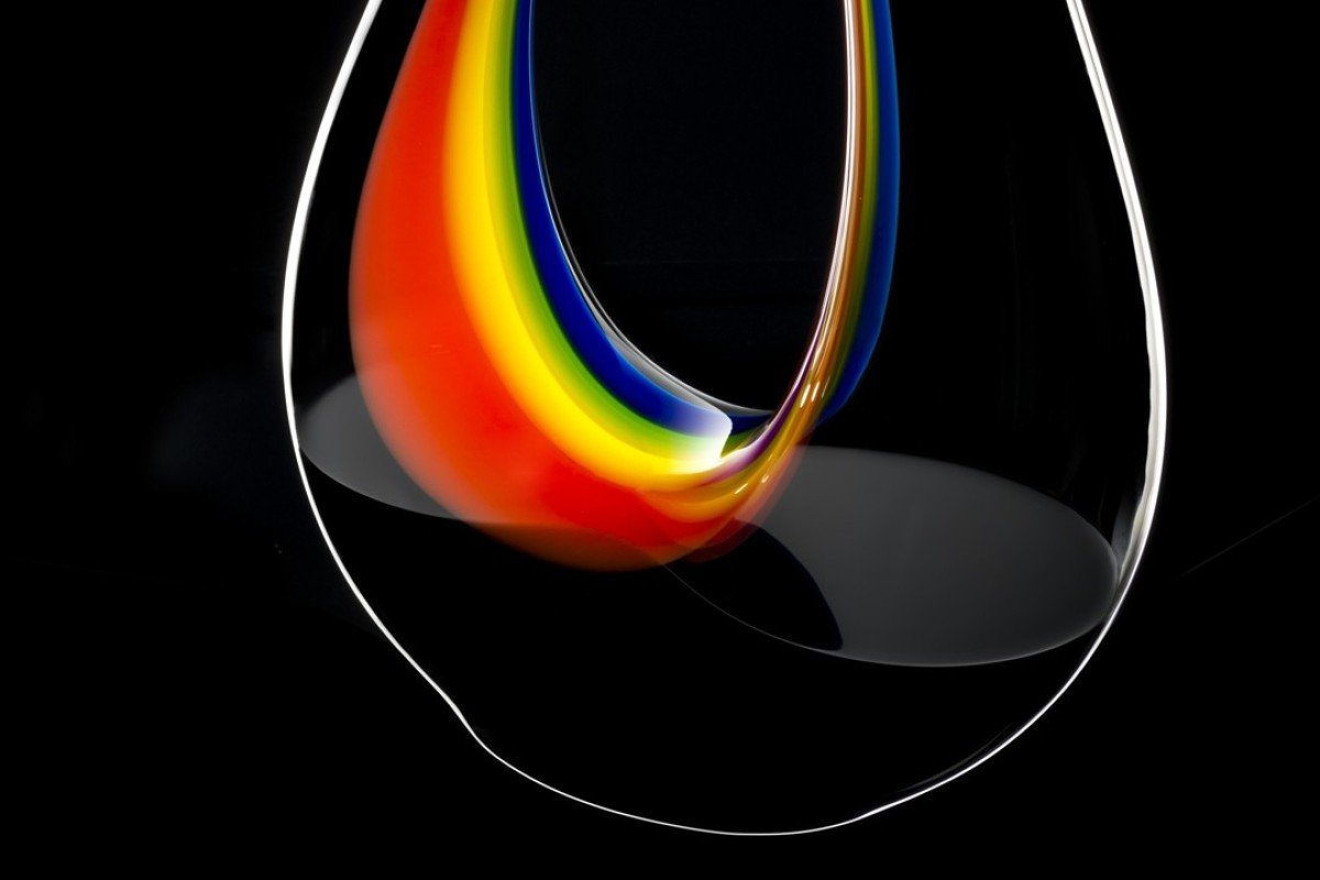 The Amadeo Double Magnum Rainbow decanter from Riedel depicts four colours and represents hope.
