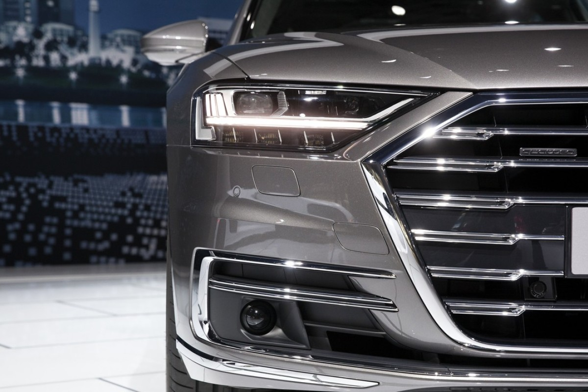 The Audi AG A8 L Quattro vehicle Photo: Bloomberg