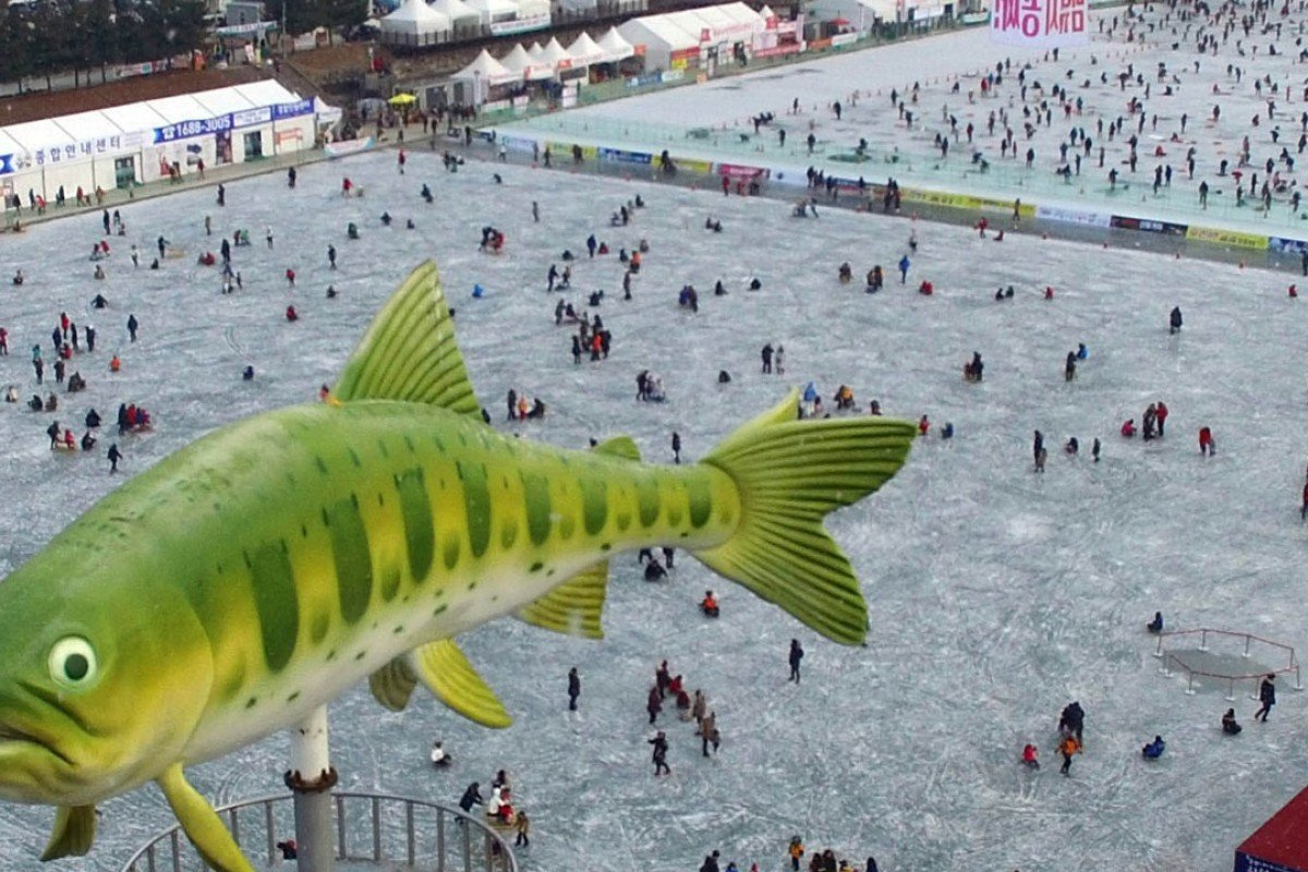 Hwacheon Sancheoneo Ice Festival is the biggest ice festival in South Korea