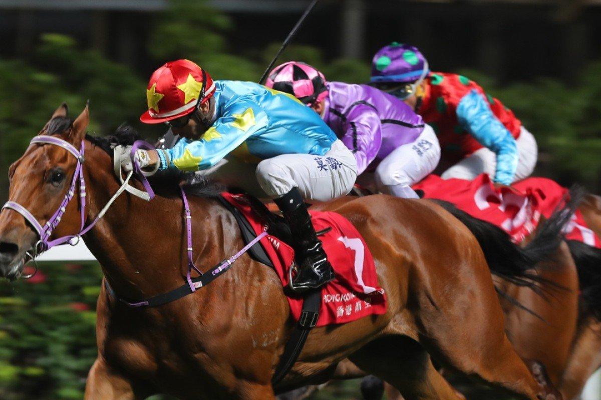 Fairy Twins wins at Happy Valley in December. Photos: Kenneth Chan