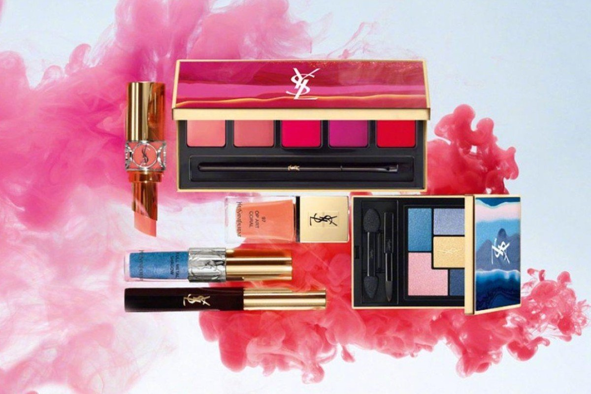 Yves Saint Laurent is one of the most popular designer cosmetics brands in China. Photo: Mina's Weibo account