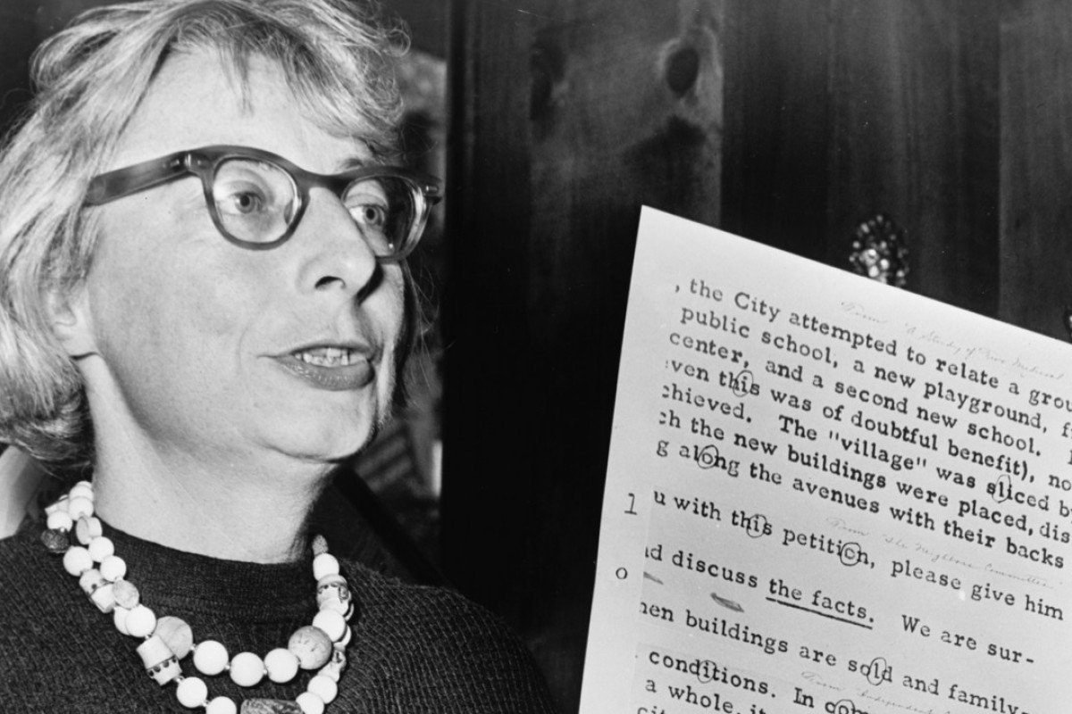 Urban activist Jane Jacobs in a still from the documentary film Citizen Jane: Battle for the City.