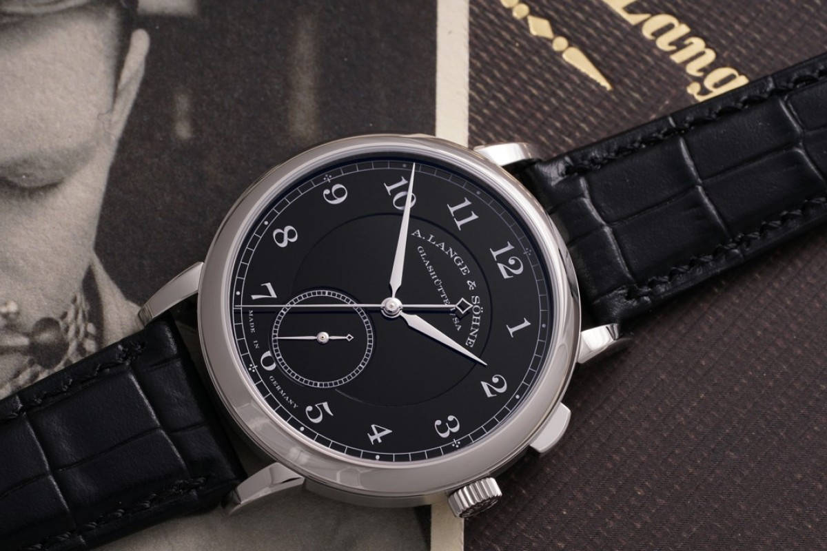 A. Lange & Söhne's 'Homage to Walter Lange' will be auctioned at Phillips.