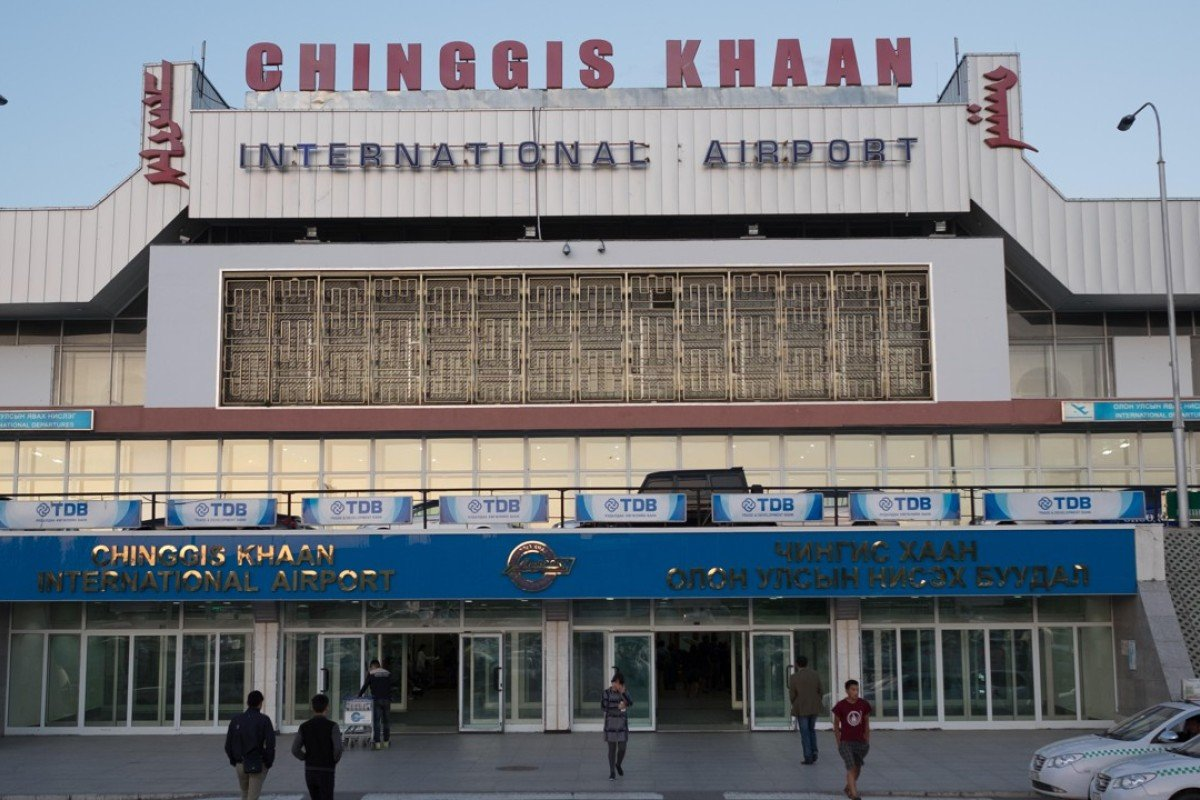 The Chinggis Khaan International Airport, in Ulan Bator, Mongolia. Picture: Alamy