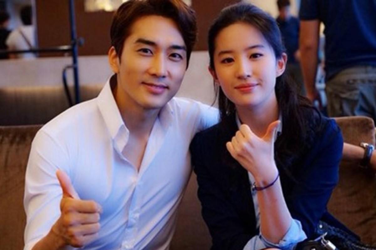 Mulan star Liu Yifei and Korean actor Song Seung-heon have ...