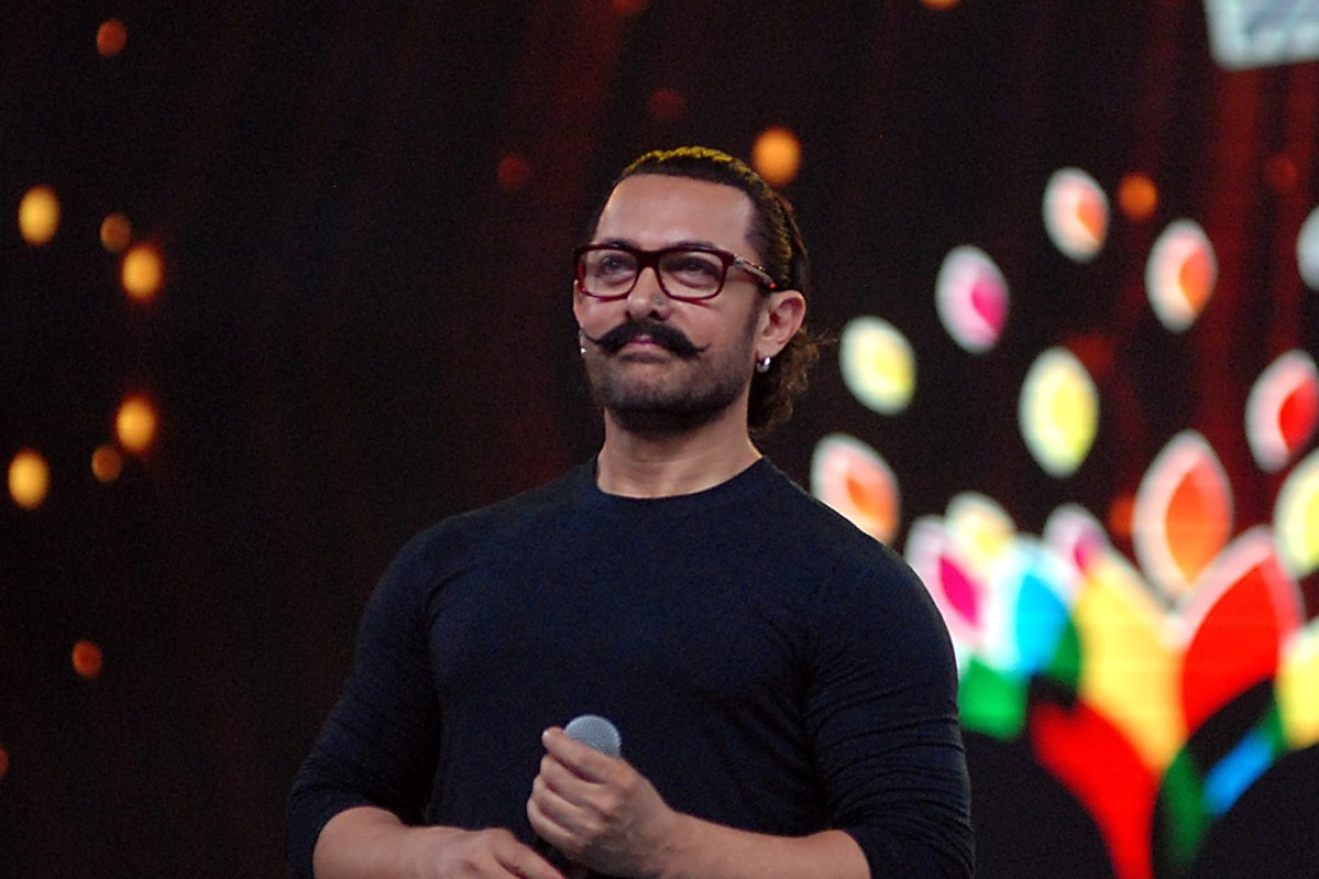 Bollywood actor Aamir Khan's films resonate with Chinese youth. Photo: AFP