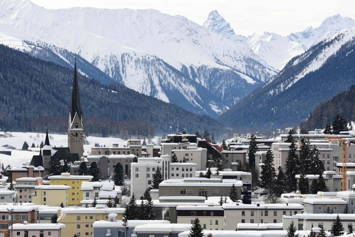 The Swiss town of Davos, the venue of the annual World Economic Forum. Photo: AFP