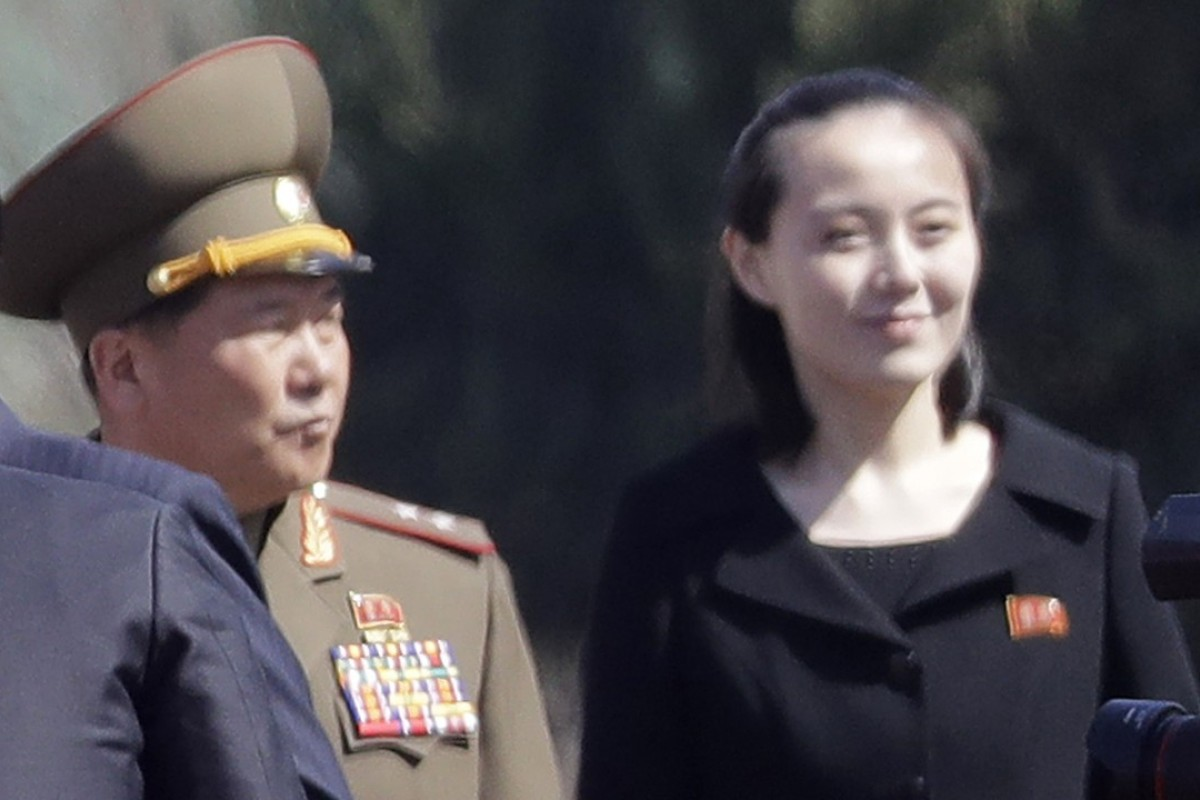 North Korea's Ivanka: Kim Yo-jong, the sister of Kim Jong-un. Photo: AP
