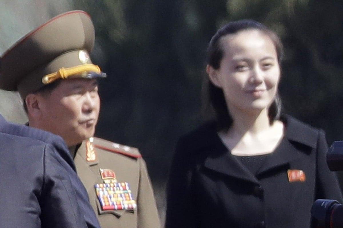 North Korea's Ivanka: Kim Yo-jong, the sister of Kim Jong-un. Photo: AP