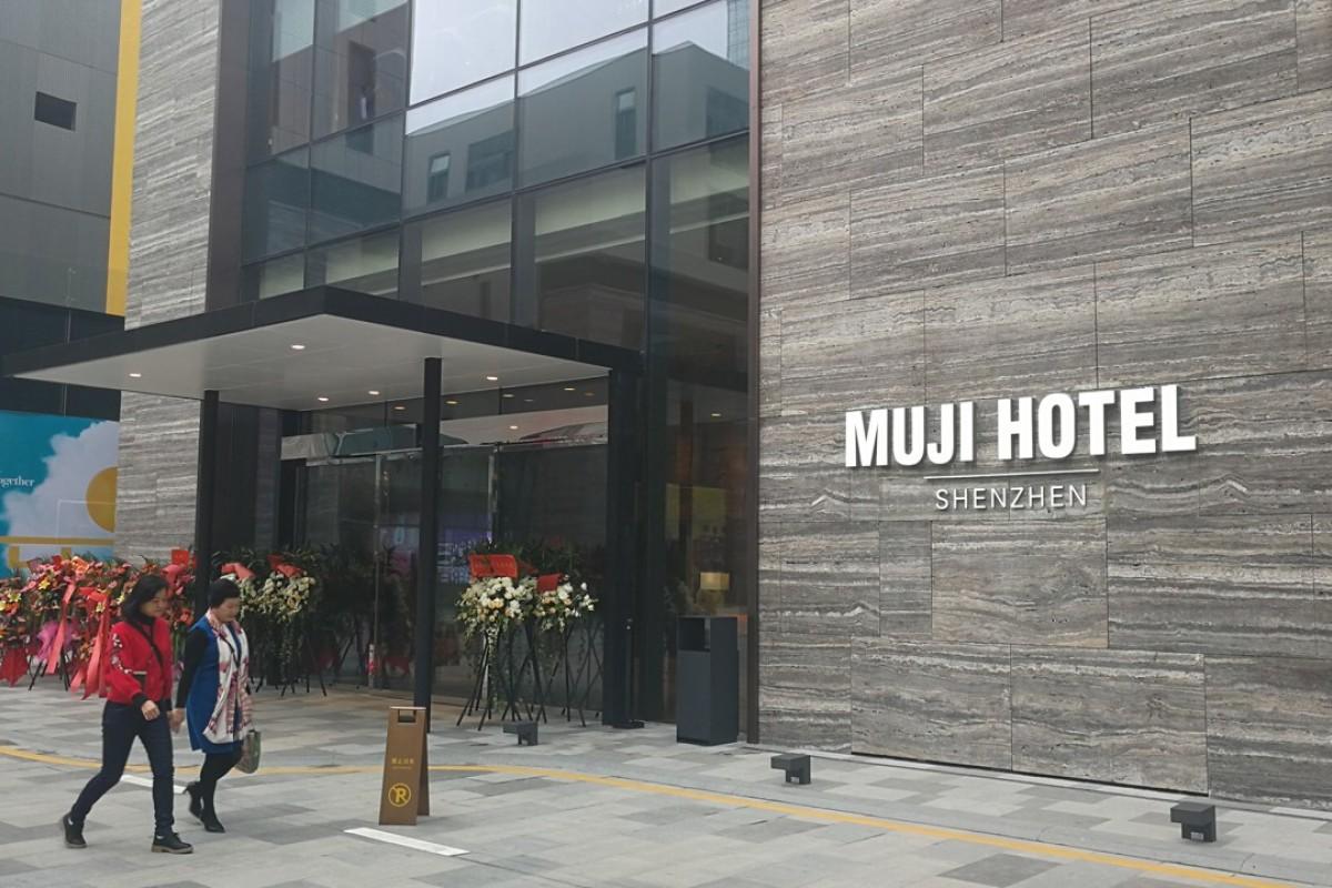 The Muji Hotel Shenzhen.