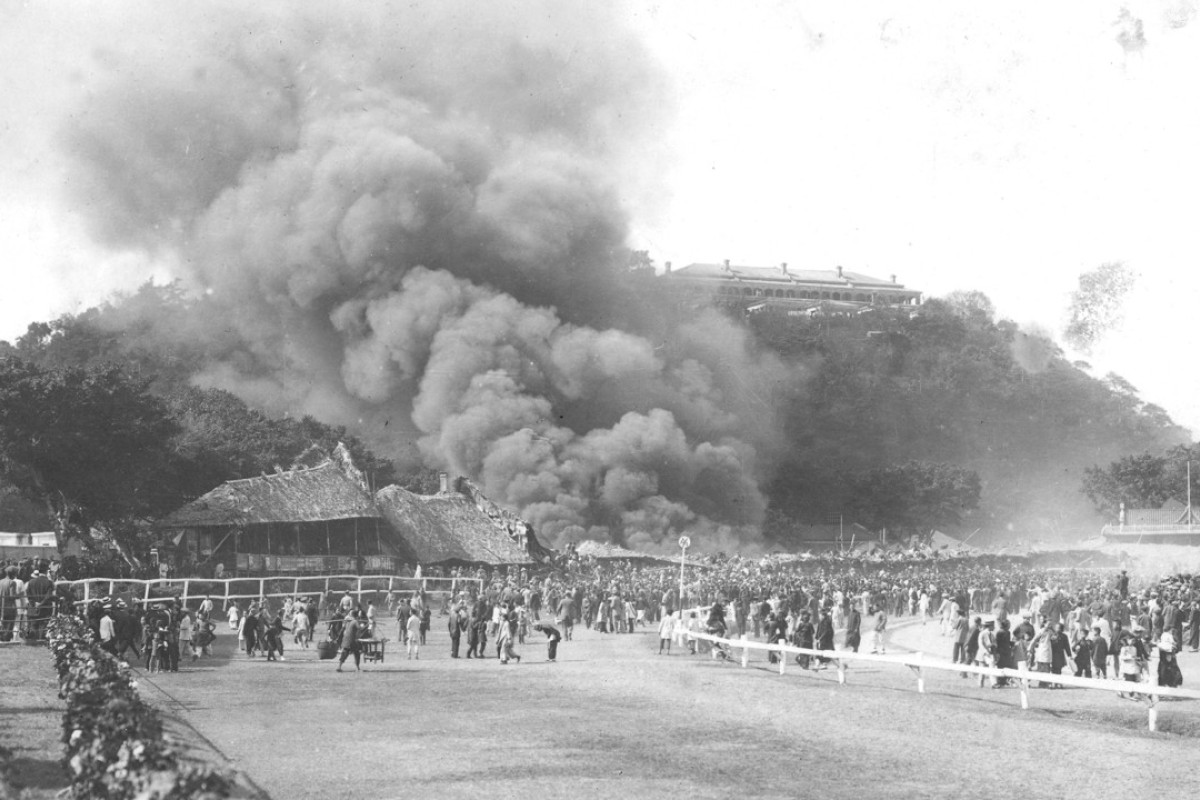 600 lives were lost when a fire ravaged Happy Valley Racecourse on February 27 1918.