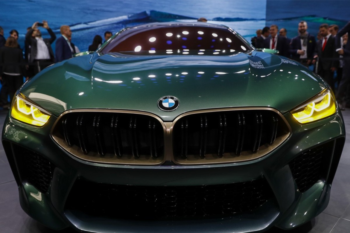 The BMW M8 Gran Coupe Concept Car Will Be Seen By The Public When The 88th