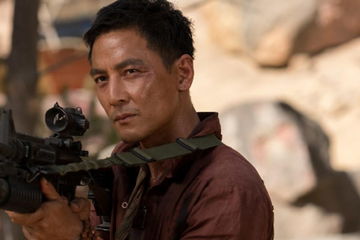 Daniel Wu as Lu Ren in a still from the film Tomb Raider. Photo: Warner Bros. Entertainment