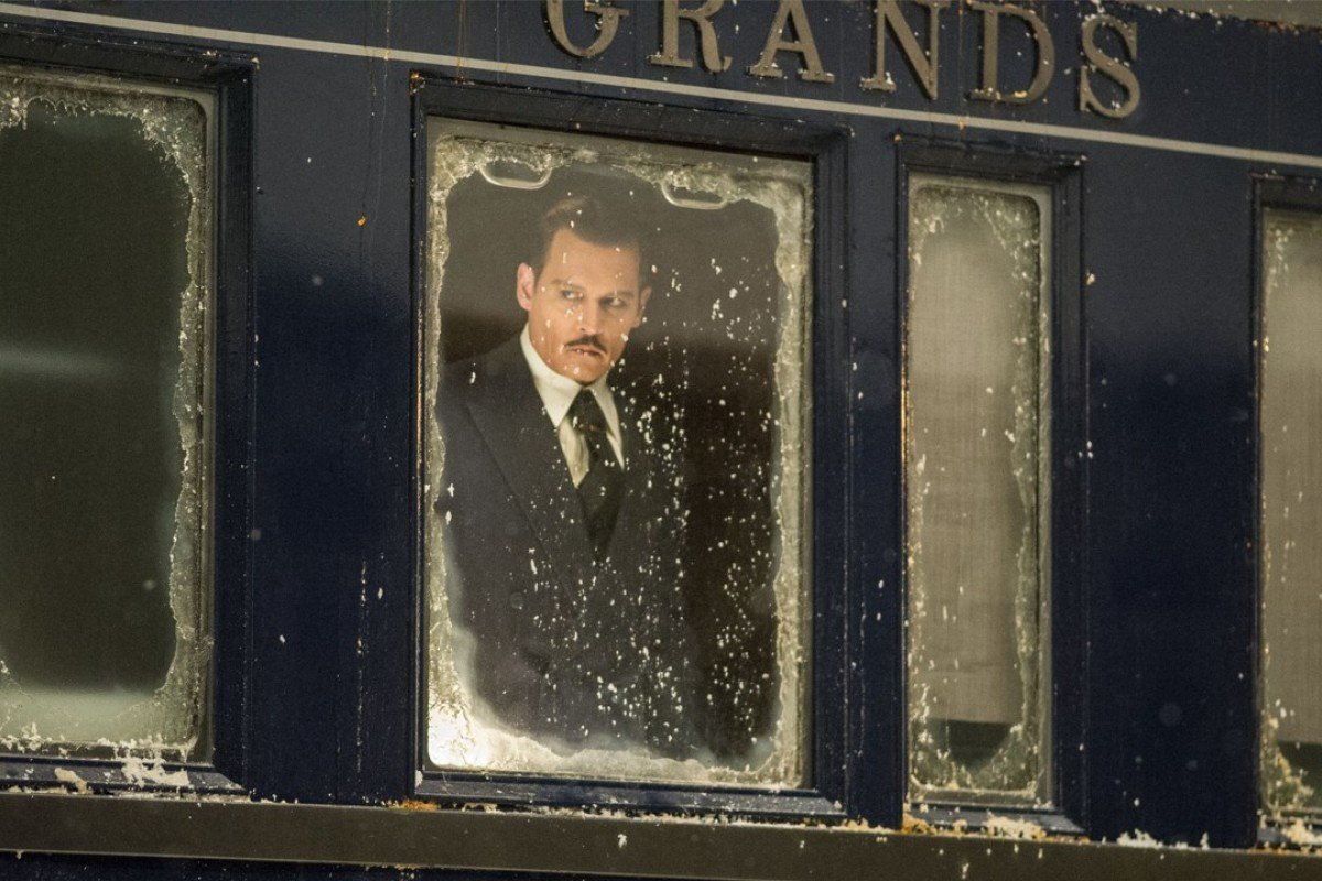 Johnny Depp stars in Twentieth Century Fox's 2017 adaptation of 'Murder on the Orient Express'.