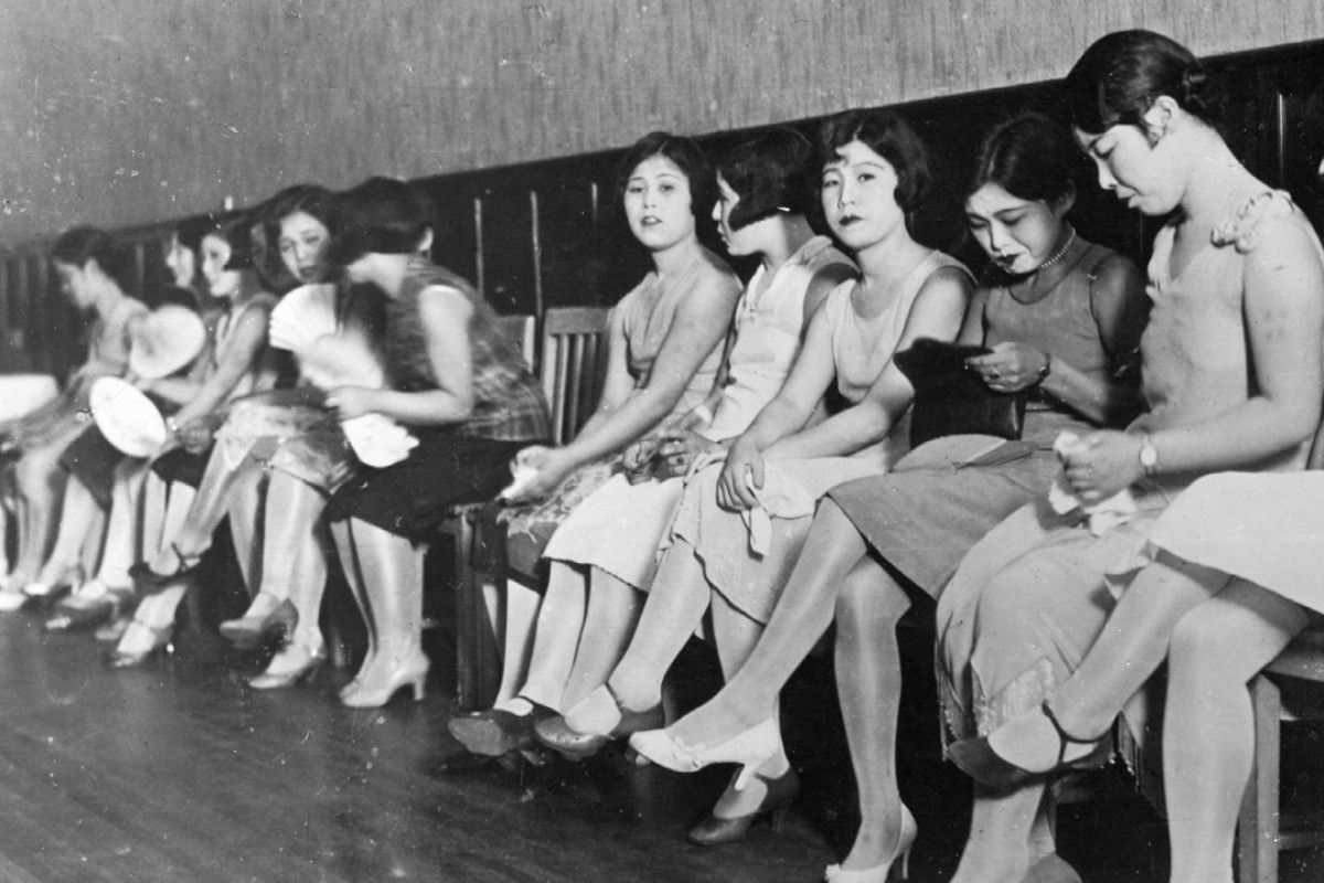 Prostitutes in Shanghai, 1931. Picture: Alamy