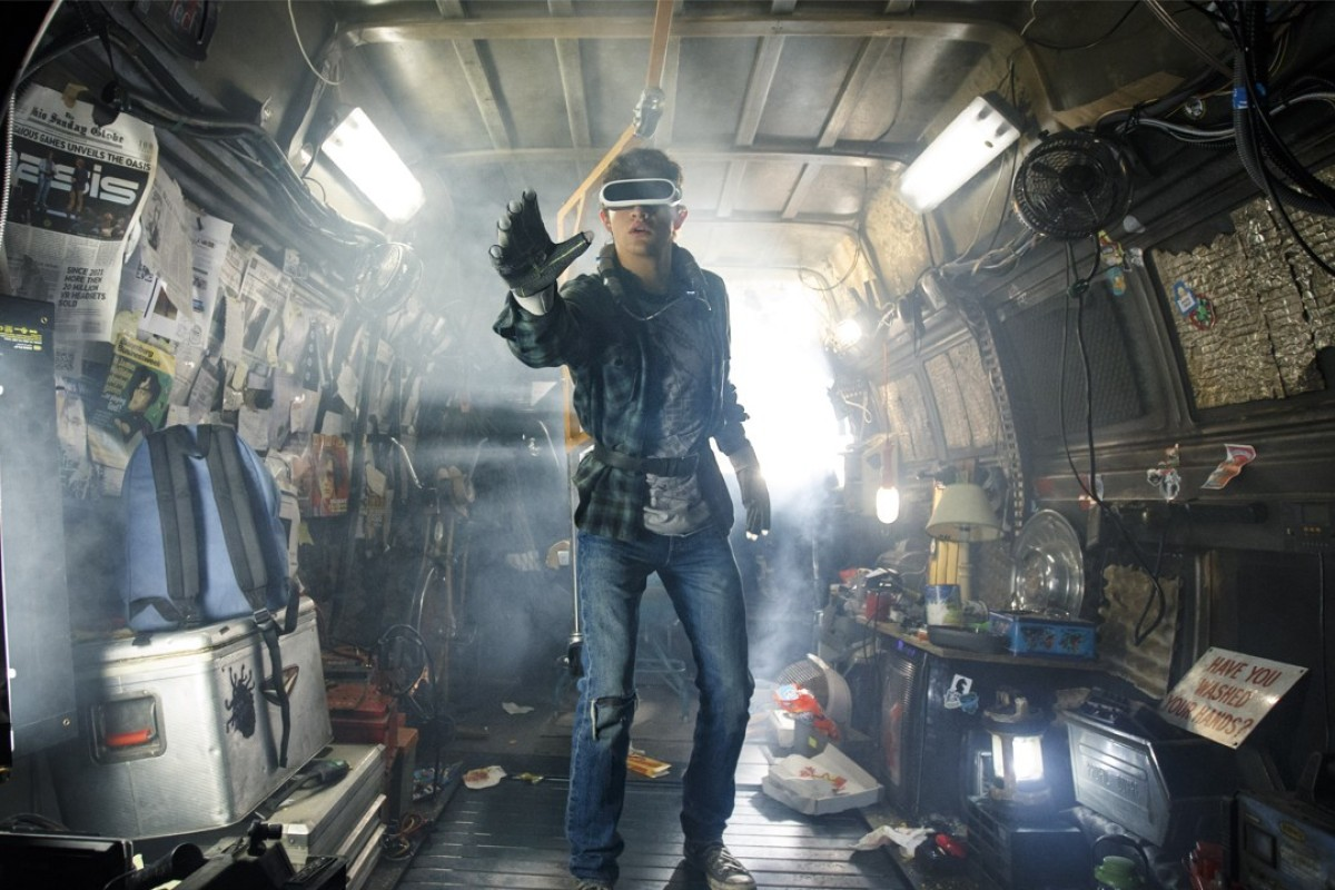Tye Sheridan stars in Steven Spielberg's virtual-reality action adventure film, 'Ready Player One', which is released worldwide from March 28.