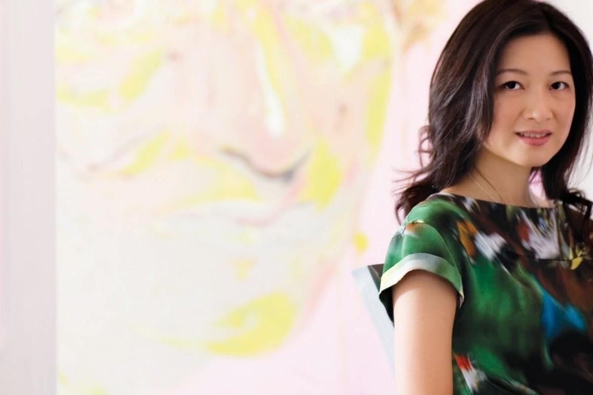 Angela Li, co-president of HKAGA and gallery owner