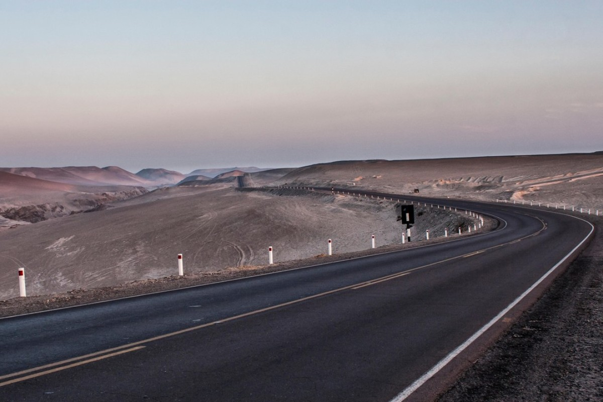 The Panamerican Highway, in Peru. Pictures: Alamy