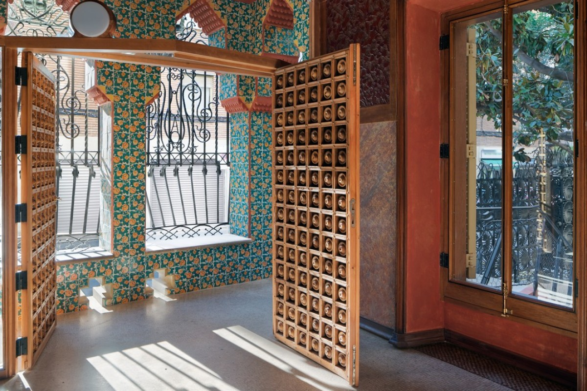 Inside Casa Vicens in Barcelona, Spain, the first house ever designed by Catalan architect Antoni Gaudí. Pictures: Pol Viladoms