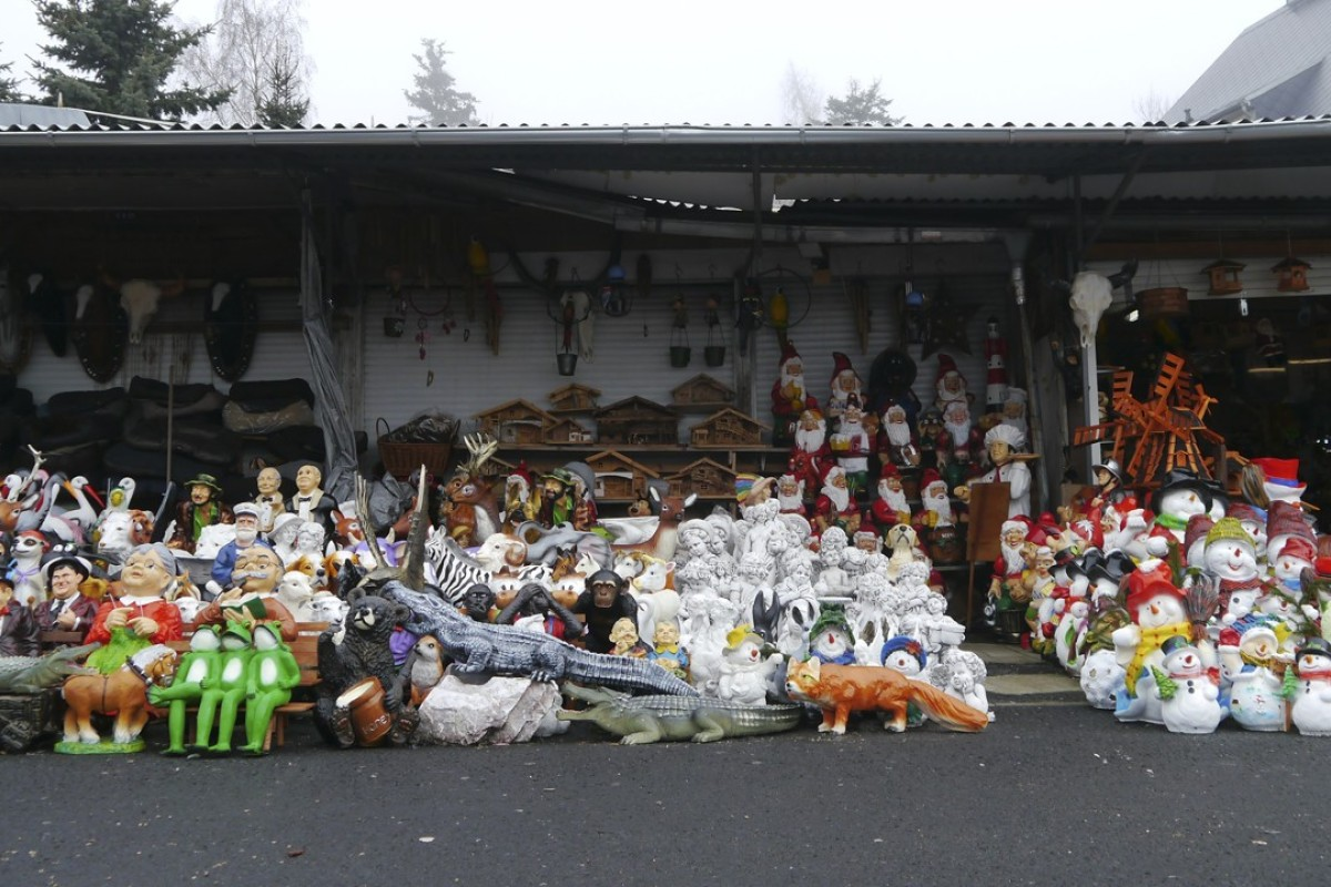 A stall at Vietnamese market Asia Dragon Bazar in Cheb, in the Czech Republic. Picture: Jens Kastner