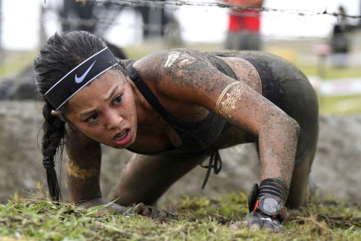 Nick Inge, in a previous race, is an elite Spartan Race runner. Photos: Handout