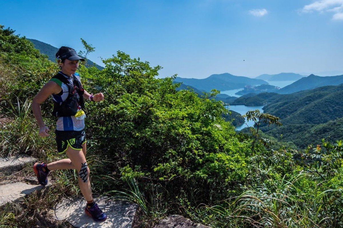 Marie McNaughton running the MSIG HK50 – a long hard season has left her body riddled with injuries. Photo: Action Asia Events