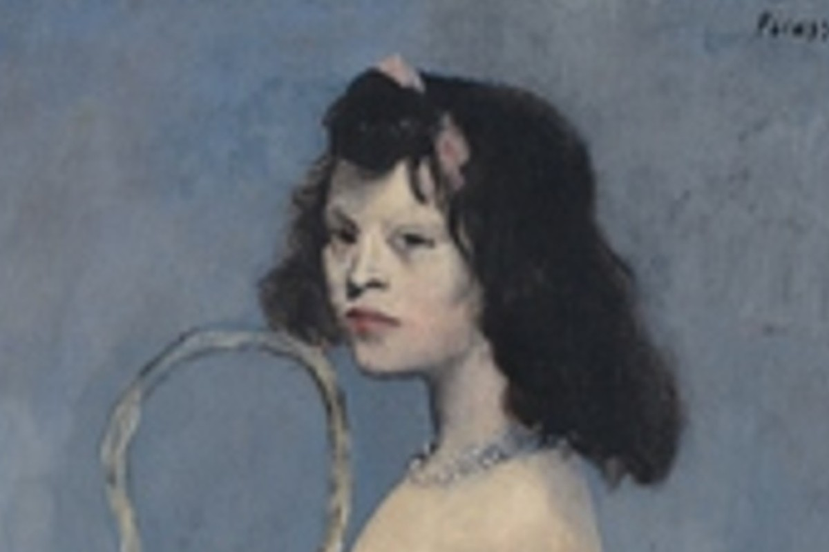 'Young Girl with a Flower Basket'. Photo: Christie's