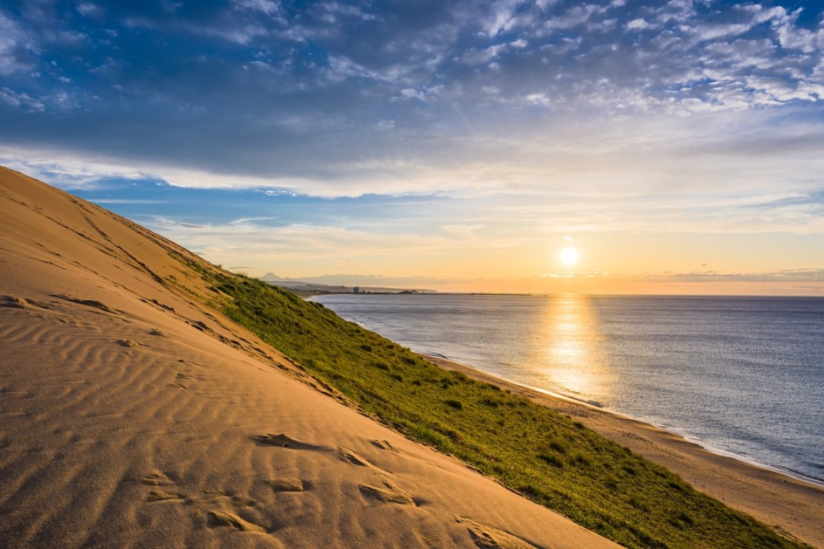 The Tottori Sand Dunes are part of Japan's Sanin Kaigan National Park and present a breathtaking and unique natural formation. Photo: Thinkstock