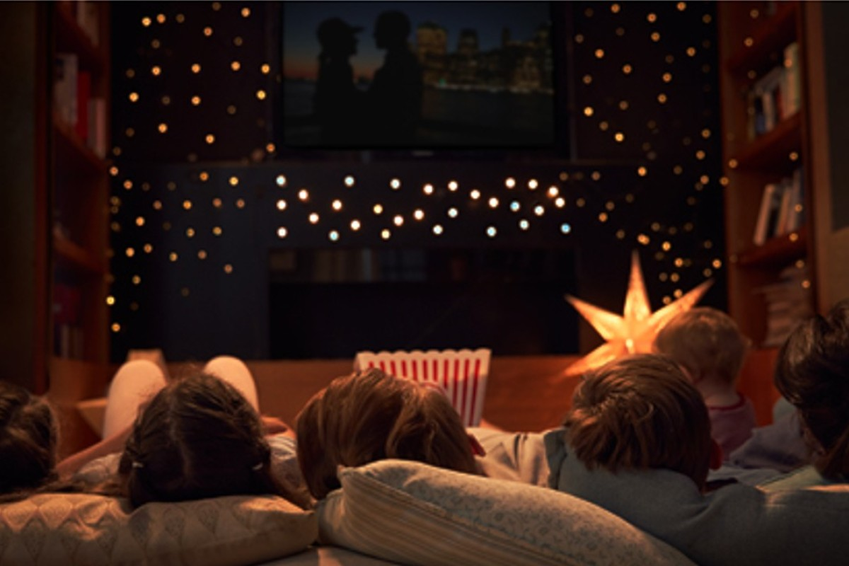 A family film night-in, watching films with your mother, is the perfect way to help her celebrate Mother's Day.