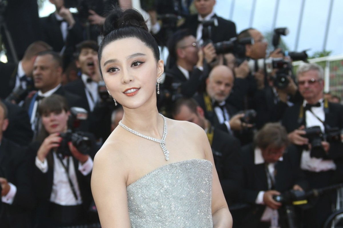 Chinese actress Fan Bingbing poses for photographers after arriving at the opening ceremony of the 71st Cannes Film Festival in France. Photo: AP