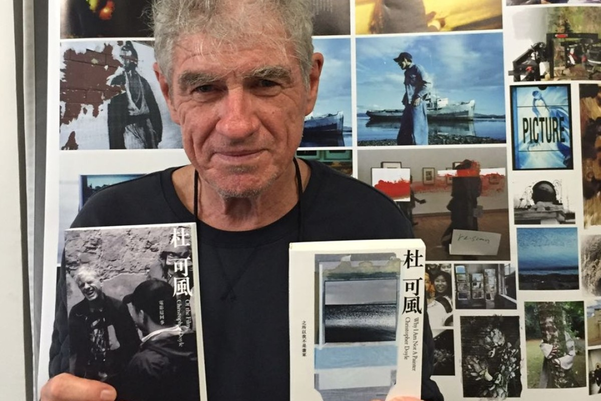 Cinematographer Christopher Doyle, who has published two new books and is staging an exhibition of his collage art in Hong Kong until May 25.
