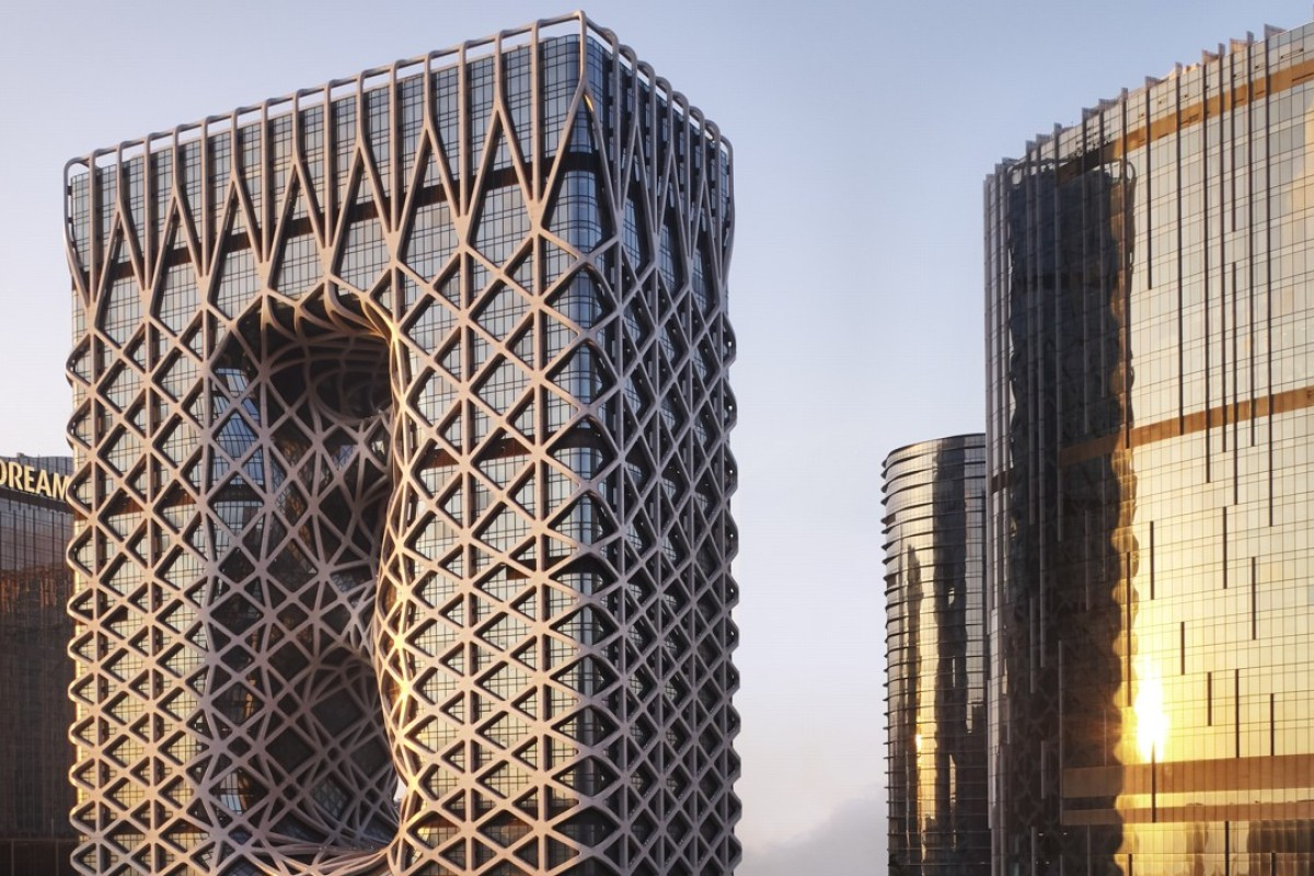 Morpheus hotel at City of Dreams was designed by the late Dame Zaha Hadid.