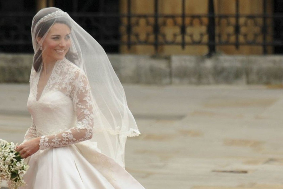 Kate Middleton arrives at Westminster Abbey for her wedding to Prince William April 29, 2011. Photo: AFP