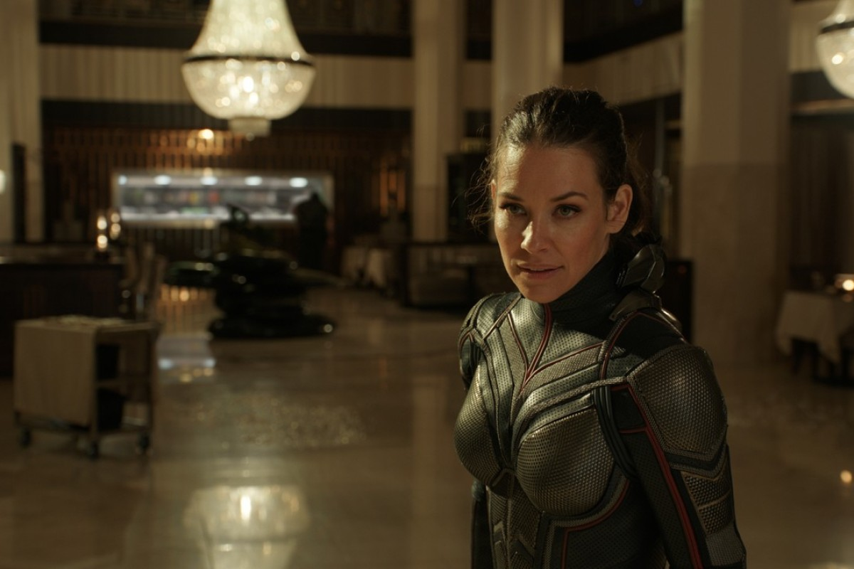 Evangeline Lilly as Hope van Dyne in Marvel Studios' 'Ant-Man and the Wasp'. Photo: Film Frame ©Marvel Studios
