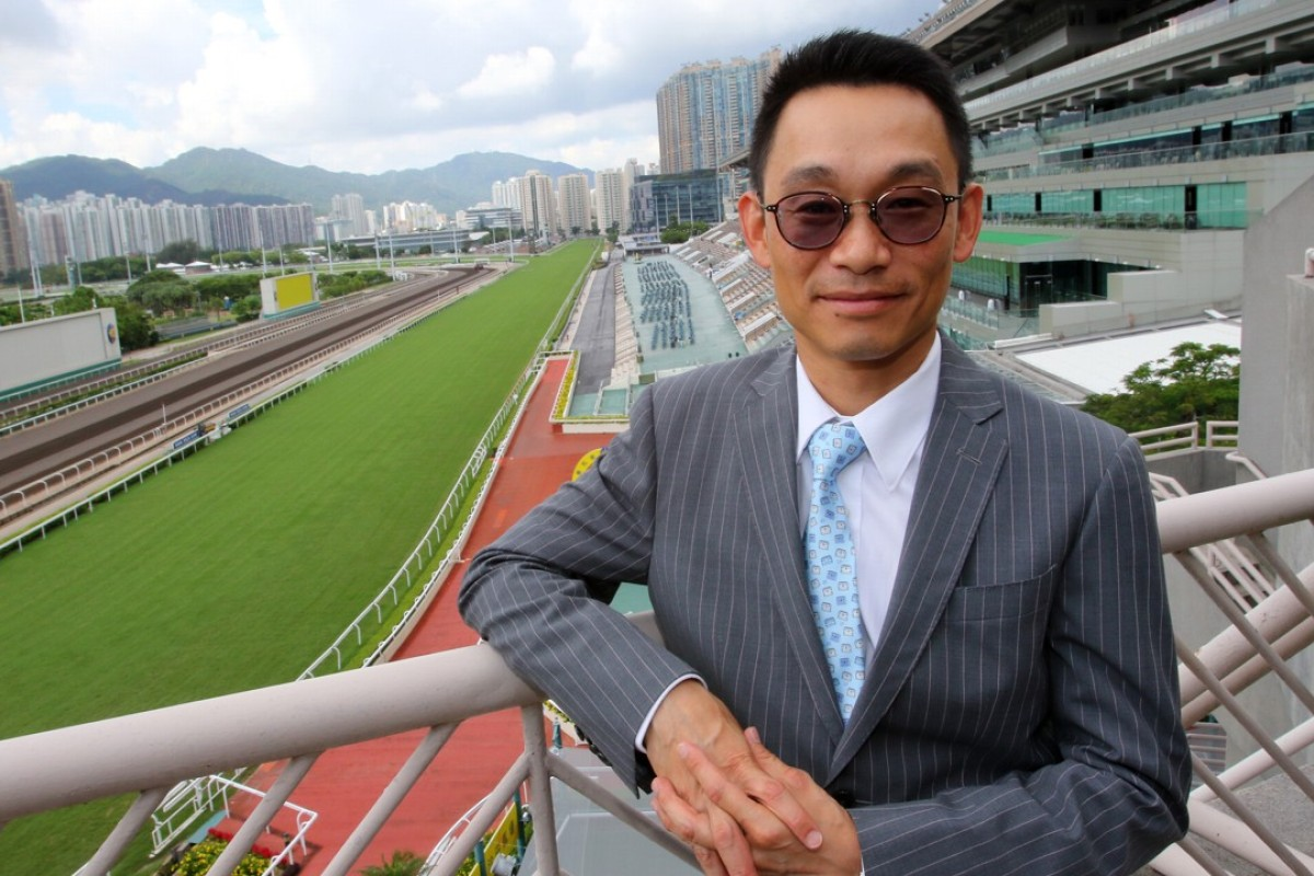 New trainer Jimmy Ting at Sha Tin. Photos: Kenneth Chan