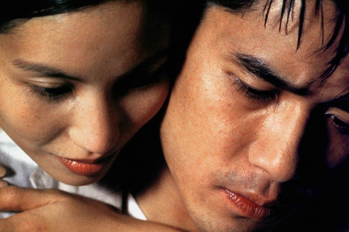 Vietnamese actress Tran Nu Yen Khe (left) with Hong Kong actor Tony Leung Chiu-wai – who turns 56 on Wednesday – in a scene from the 1995 Vietnamese crime drama 'Cyclo'.