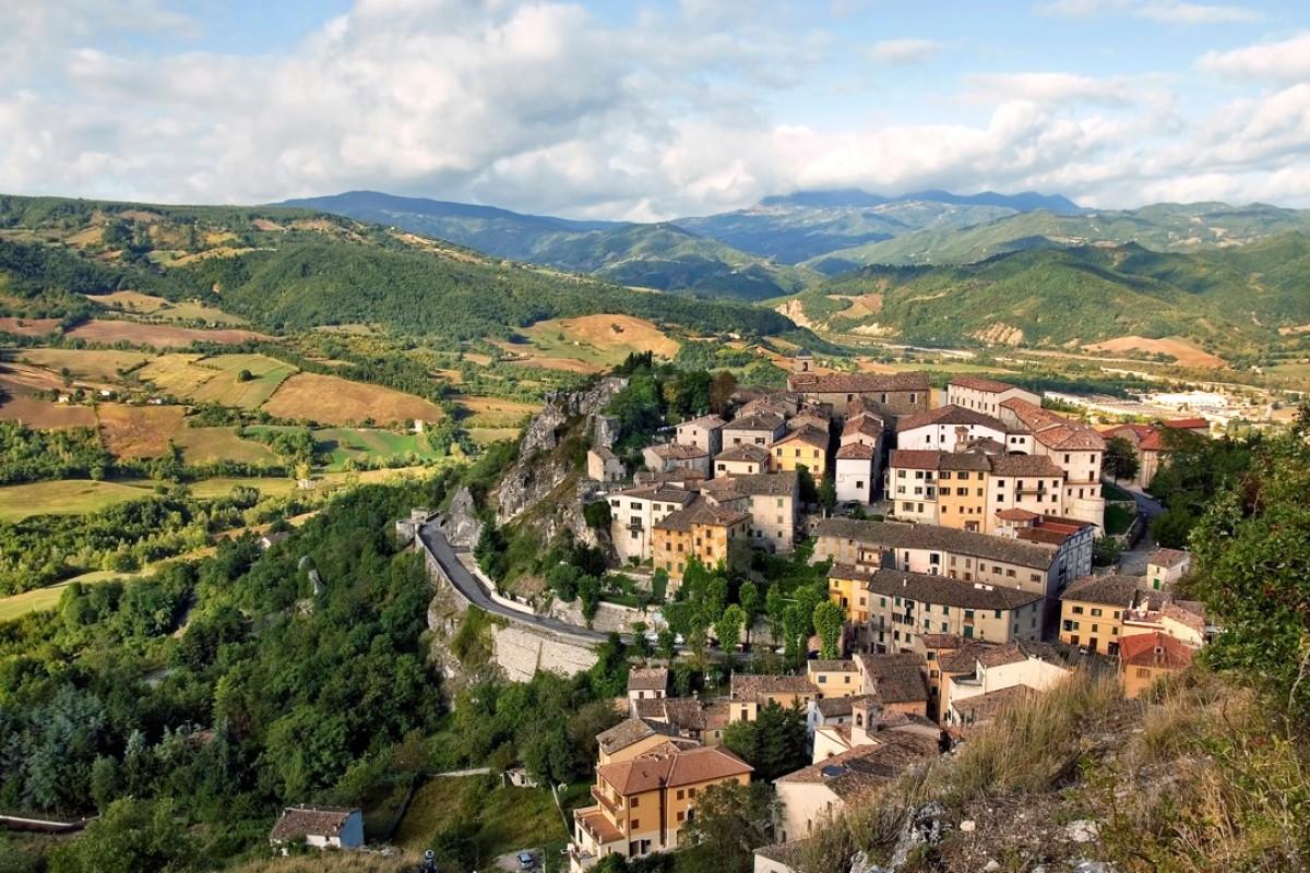 Pennabilli, Emilia-Romagna, Italy. Picture: Alamy