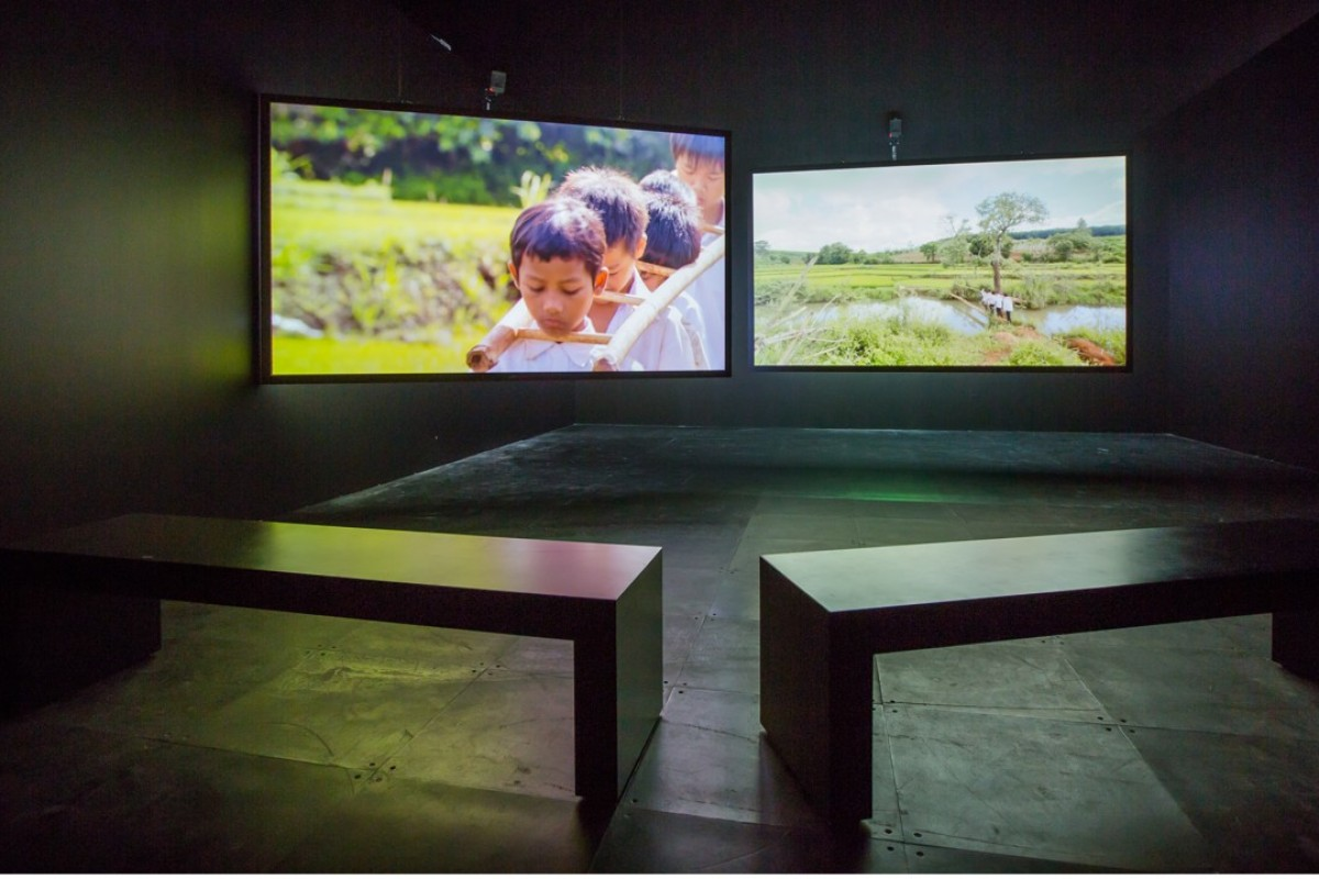Tropical Siesta(2015-17), a video installation by Phan Thao Nguyen. Pictures: The Private Museum