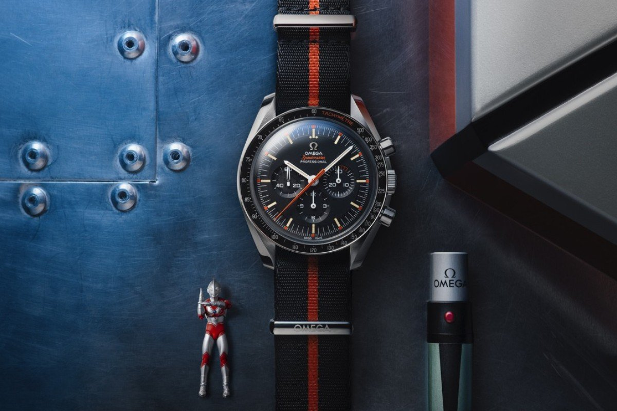 Omega released its Speedmaster Limited Edition 42mm 'Ultraman' timepiece on July 10.