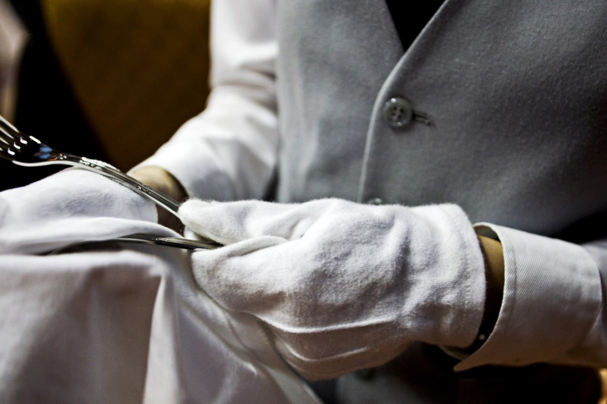 Attention to detail is paramount when it comes to being a butler.