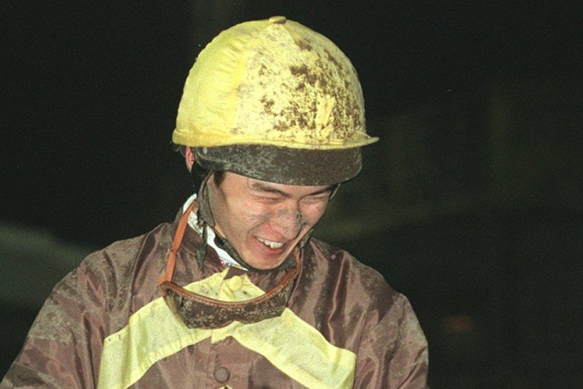 John Mok, as an apprentice rider in 1999, flashes a smile after winning aboard Polar Star at Sha Tin on January 13. Photo: SCMP