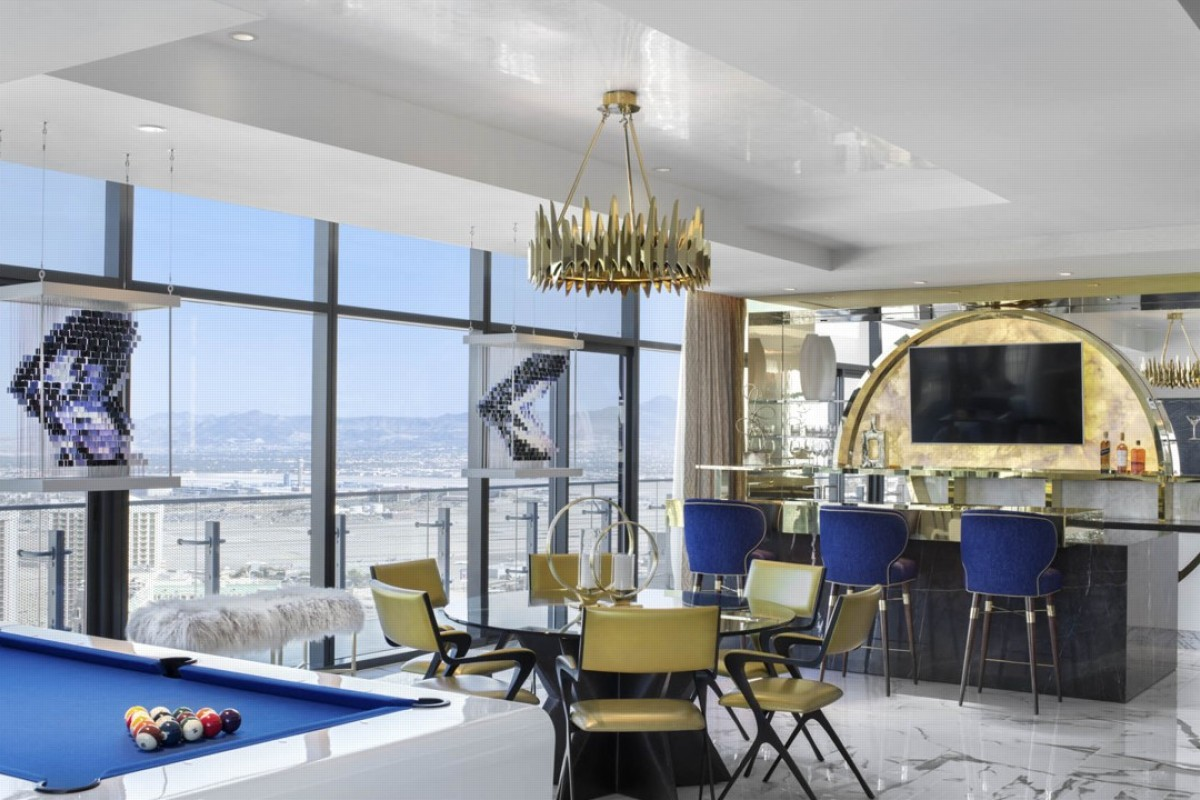One of the Boulevard suites at the Cosmopolitan, in Las Vegas. Photo: Thomas Hart Shelby