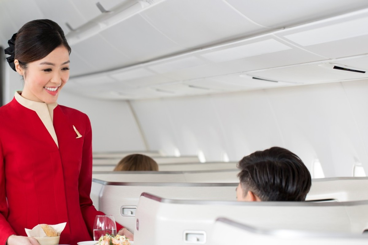 Cathay's new hospitality led concept will see cabin crew take orders for the à la carte menu.
