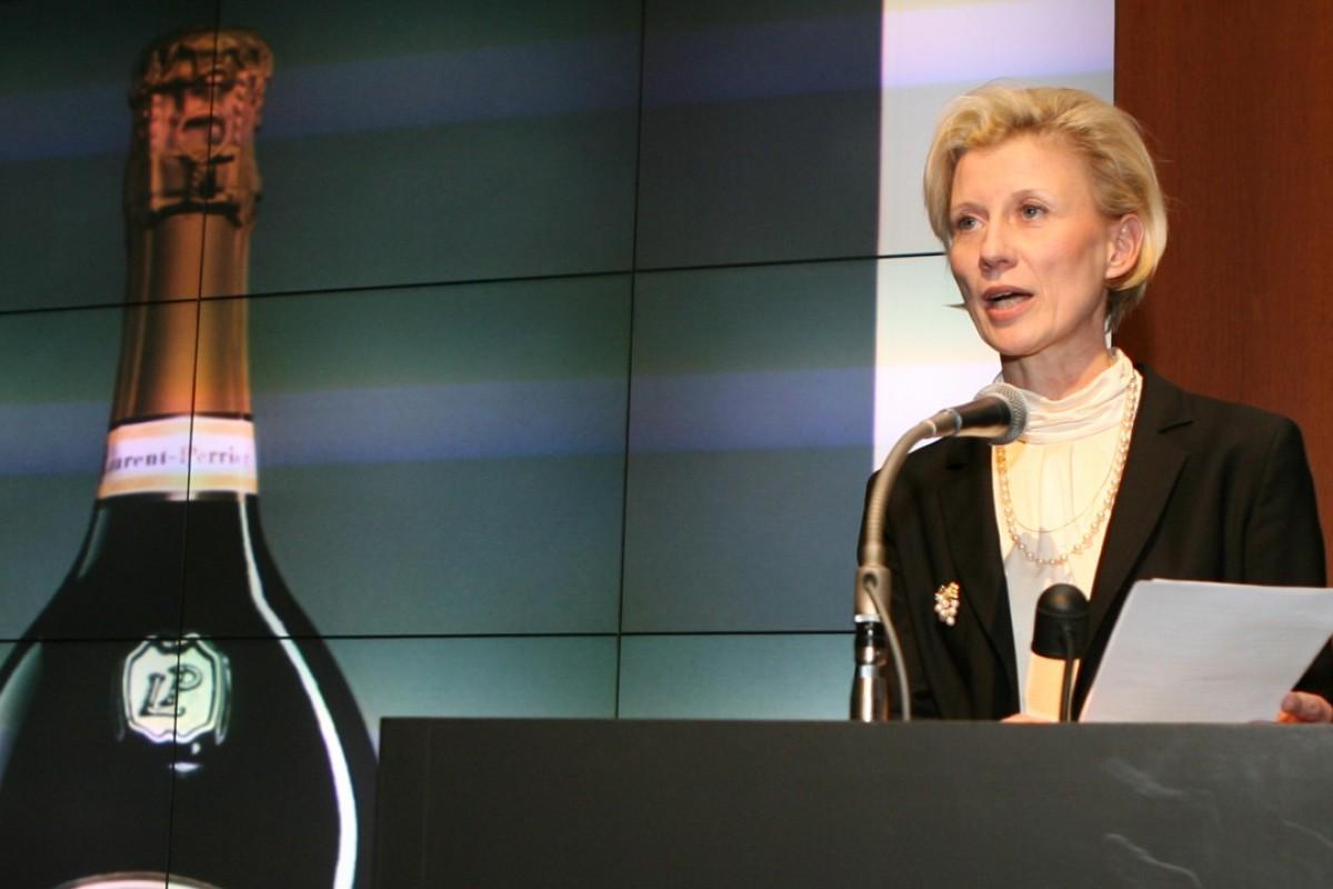 Alexandra Pereyre de Nonancourt, chairman of champagne brand Laurent-Perrier. Picture: AFP