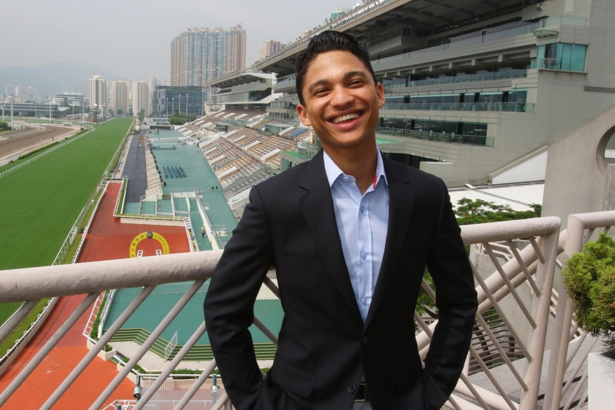 South African jockey Grant van Niekerk at Sha Tin on Wednesday morning. Photos: Kenneth Chan